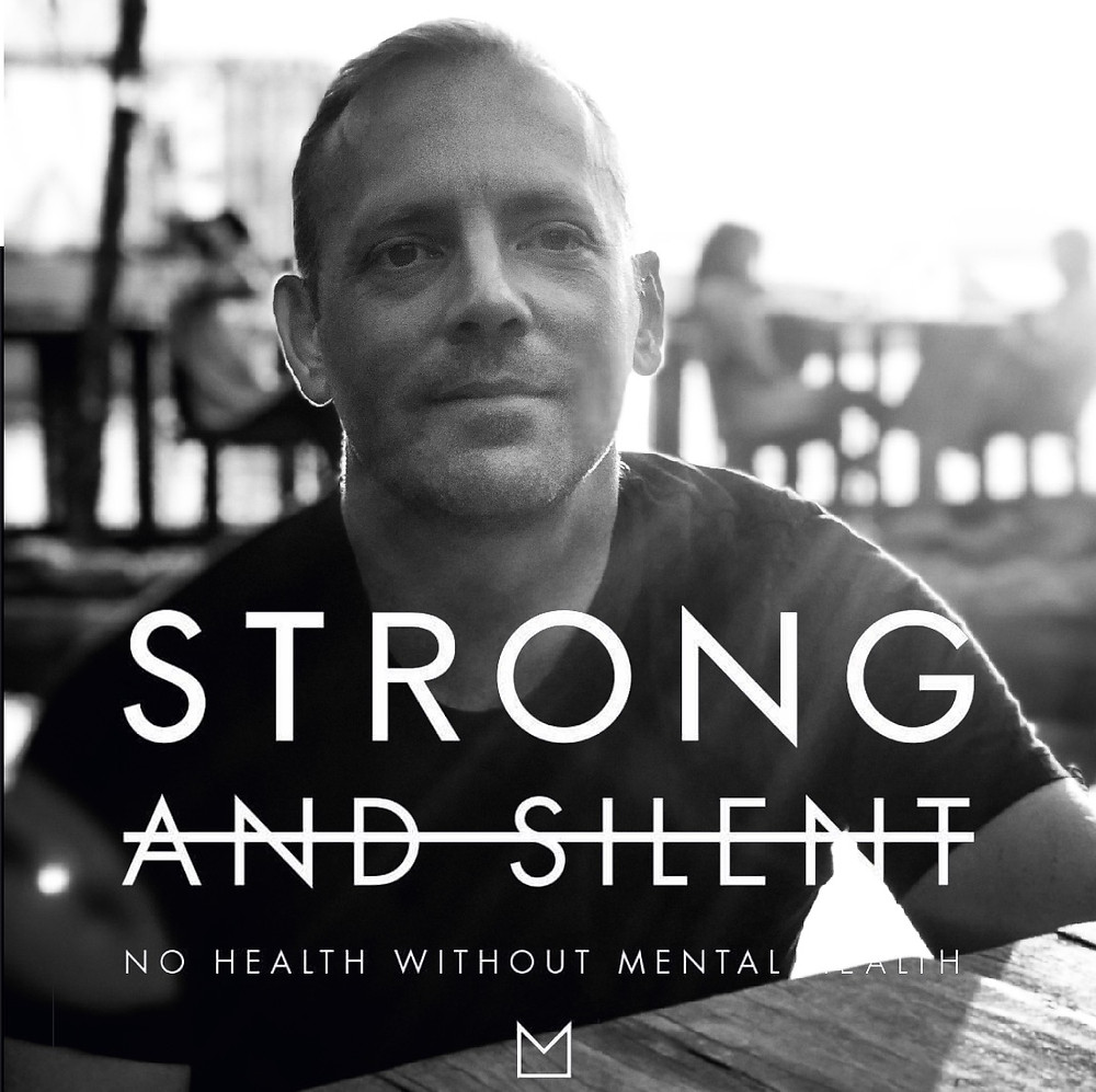 Being strong not silent and helping men connect to themselves