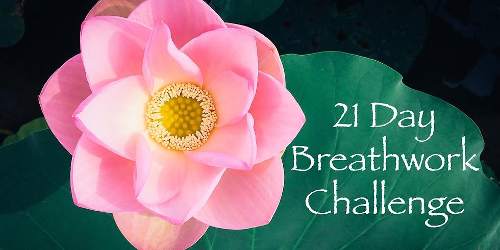 21 Day Breathwork Challenge 1st April 2020