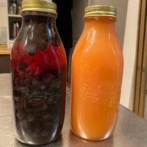 Sloe Gin & Rosehip Syrup