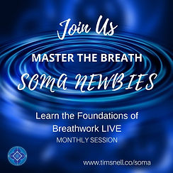 Introductory SOMA Breath Class - Zoom London