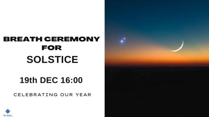 Solstice SOMA Ceremony Dec 2021