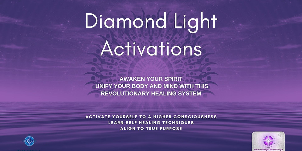 Diamond Light Activations - 2 Day Virtual Workshop