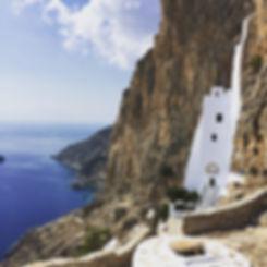 Amorgos Church. Retreat Greece. Yoga. Pranayama