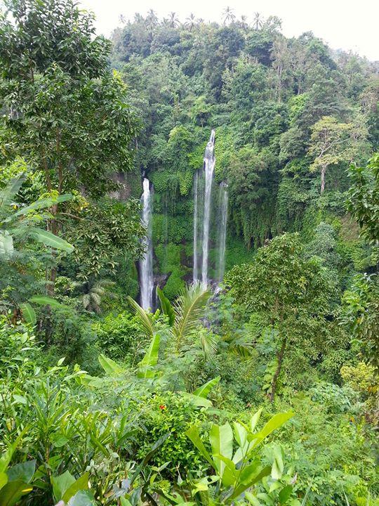 7 Chakra sacred waterfall
