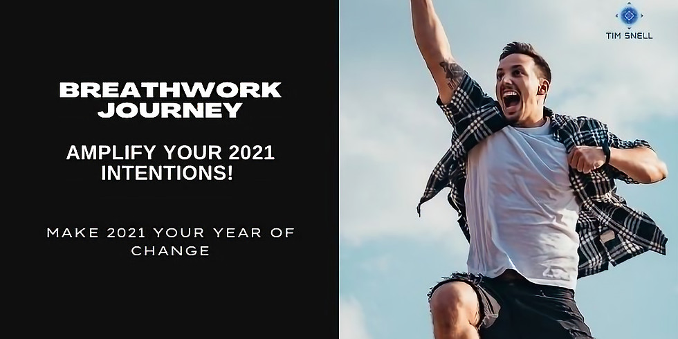FREE Amplify Your Intentions Breathwork Journey for 2021