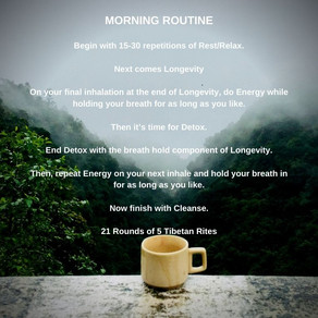 Step Into Your Day With a Powerful Morning Routine