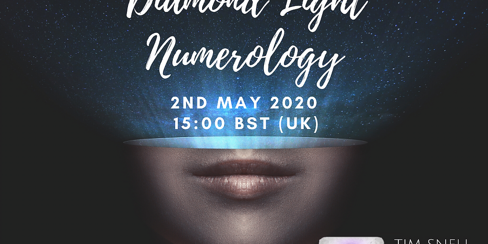 Diamond Light Numerology - Sacred Numbers Of Your Soul (Virtual)