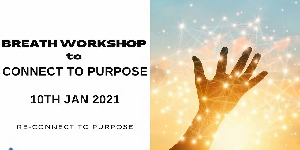 Breath Workshop to Connect to Purpose