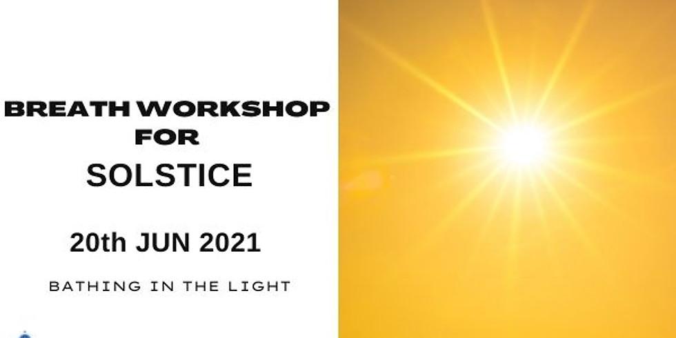 Summer Solstice SOMA Breath Workshop June 2021