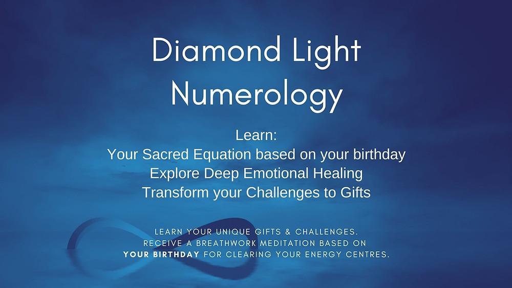 Diamond Light Numbers