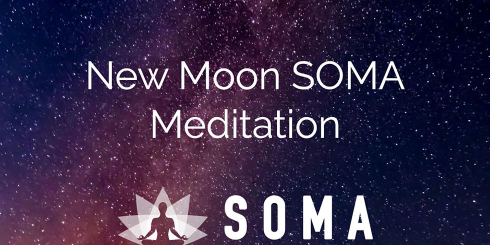 Lunar SOMA - New Moon Breathwork & Meditation 23 April Evening