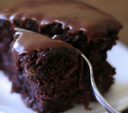 Fondant chocolat - courgette