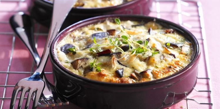 Clafoutis d'aubergines