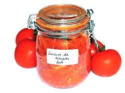 Conserve de tomates