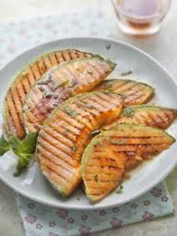 Melons grillés