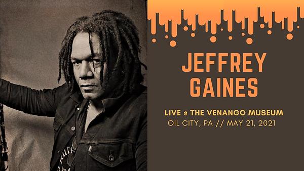 Jeffery Gaines Concert