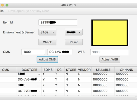 How I created an Inventory Management Tool For Ensuring Efficient QA Practices (Retail)