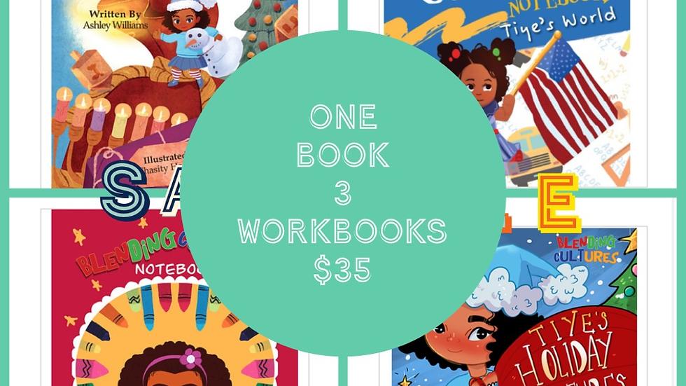 1 Book 3 workbooks