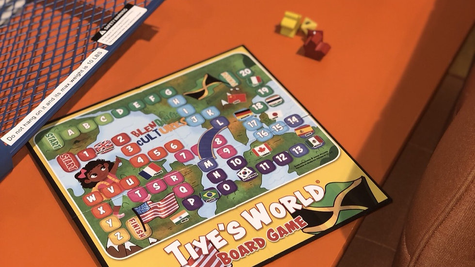 Tiye's World Board Game 2018