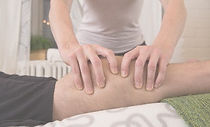 Sports Massage on the calf