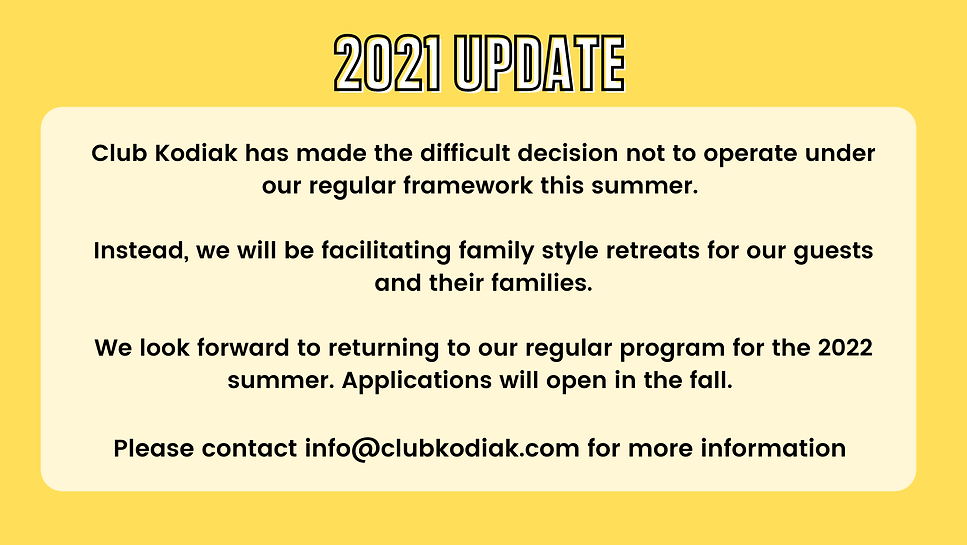 Please contact info@clubkodiak.com for m