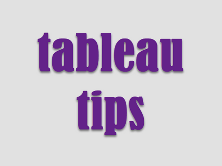 Just a Few Bar Tips for Dashboards
