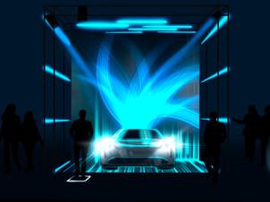 Un concept innovant, immersif et interactif pour Porsche