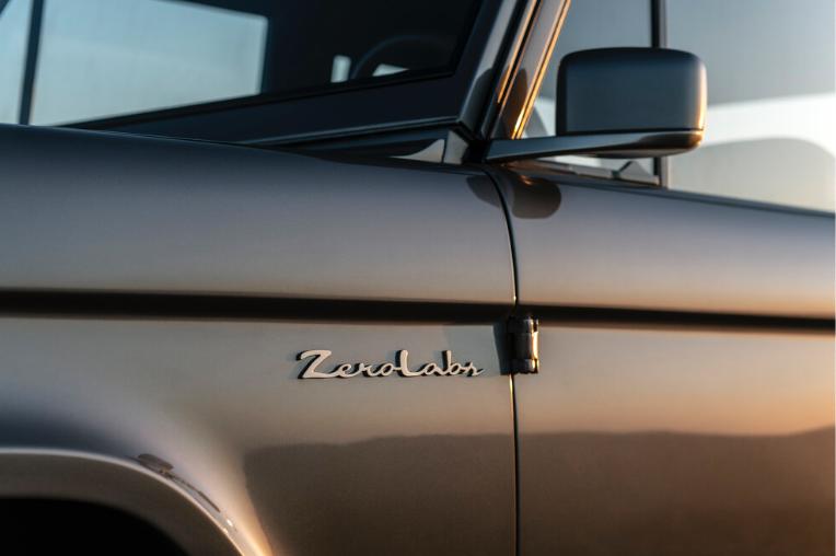 Ford Bronco revisité par Zerolabs