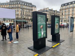 Des affiches publicitaires interactives pour IKEA !