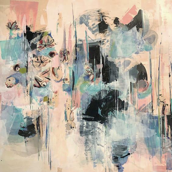 Mixed Media Abstract Art Class