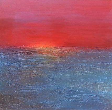 Blush Sunset by Monica Gewurz