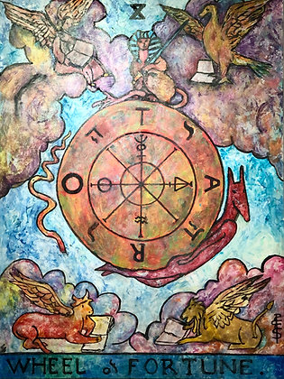 The Wheel by Shelley Brookes