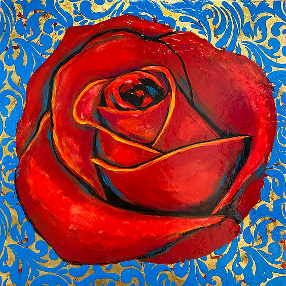 Red Rose Art Class