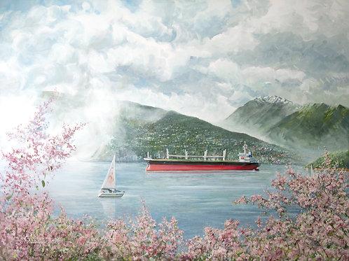 A Spring Delight by Mohammad Reza Atashzad