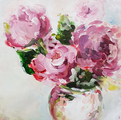 Pink Blossoms by Lauren Morris