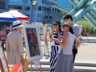 Art Downtown returns to Vancouver for successful second year