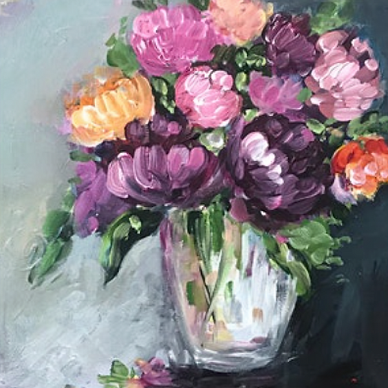 In Full Bloom Art Class