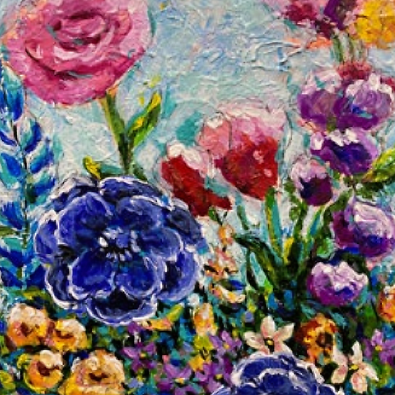 Wild Flowers Art Class