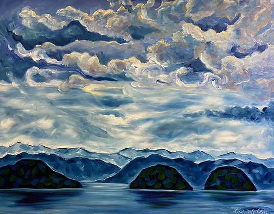 Sea to Sky by Lisa Wolfin