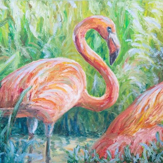 Flamingo Dream Art Class