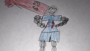 Captain Sodium by Tiffany Thompkins (Age: 11)