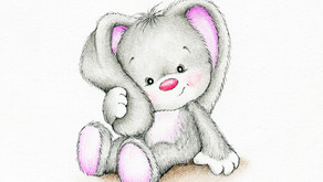 Fuzzy the Bunny by Avian Rojas (Age: 10)