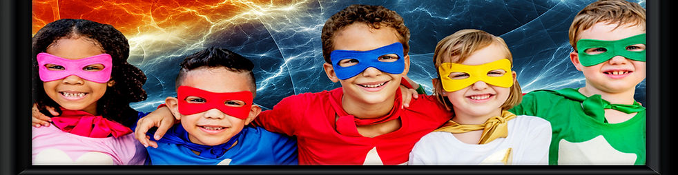All of our students are superheroes in training.
