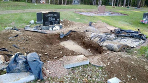 A Mysterious Grave Robber Is Taking Out Graves!   By: Owen Blare (Age: 10)