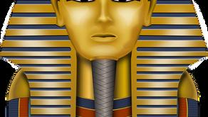 King Tutankhamun by Kian Iseli (Age: 11)