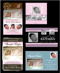 Baby Announcement Options