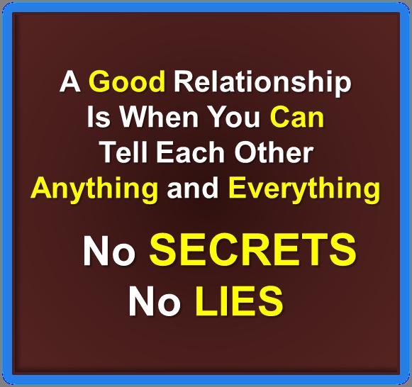 A good relationship