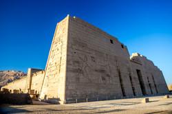 Madinat Nabu - the mortuary temple o