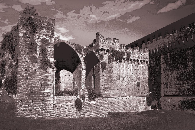 Крепость сепия