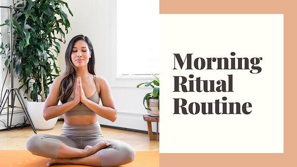 JRAESF.com | Morning Ritual Blog Banner.